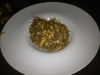 Soba di grano saraceno al the verde con salmone pacl-choy e bottarga