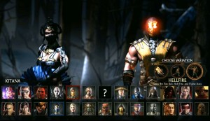 MKX chars