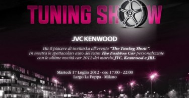 Kenwood Tuning Show - Invito